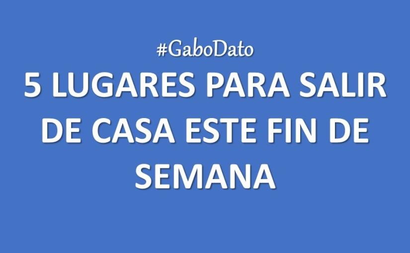 #GaboAgenda | 5 recomendaciones para elFDS