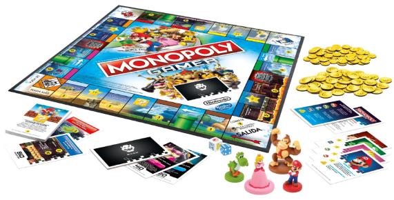 Monopoly Gamer Tablero