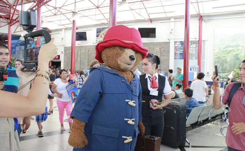 Paddington llega a Lima desdePiura