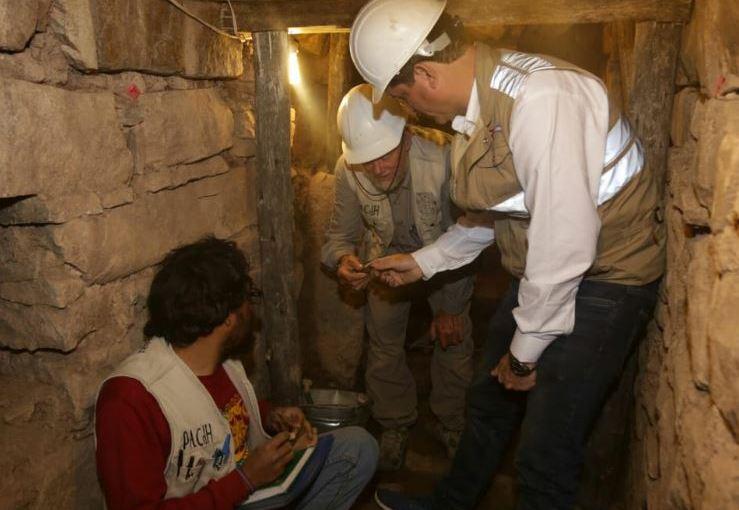 Huaraz | Encuentran nuevas galerías en Chavín deHuántar