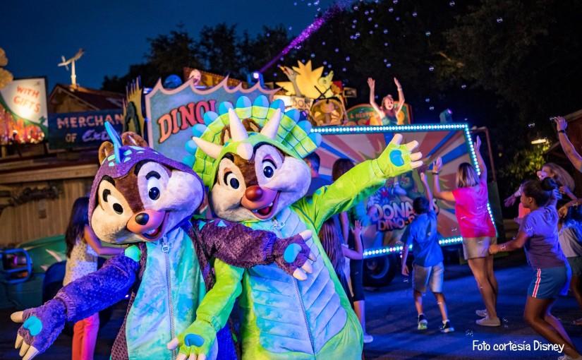 Donald's Dino-Bash! para los más pequeños en AnimalKingdom