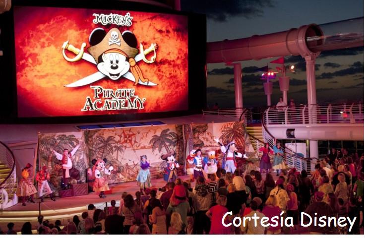 Arrancan los cruceros Disneypiratas