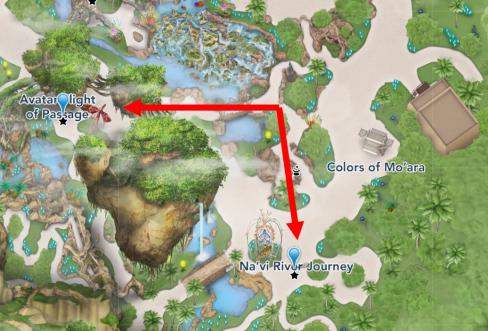 pandora mapa