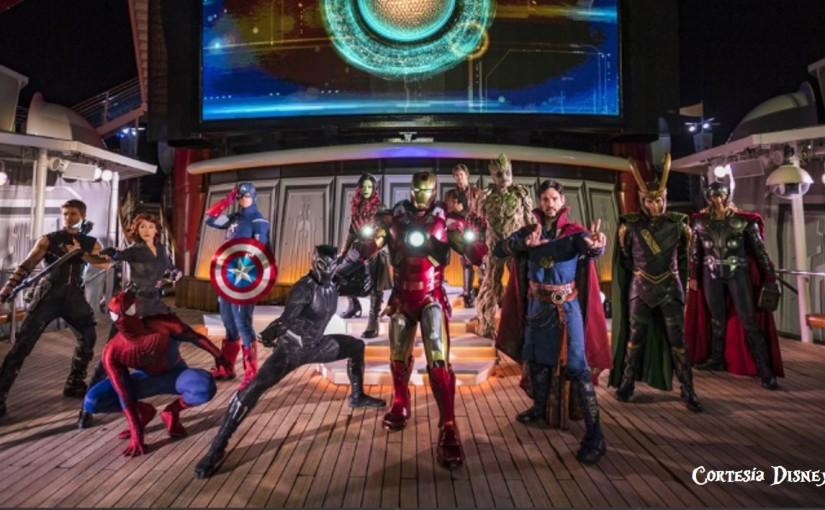 Disney! Crucero! Marvel!Acción!!!!
