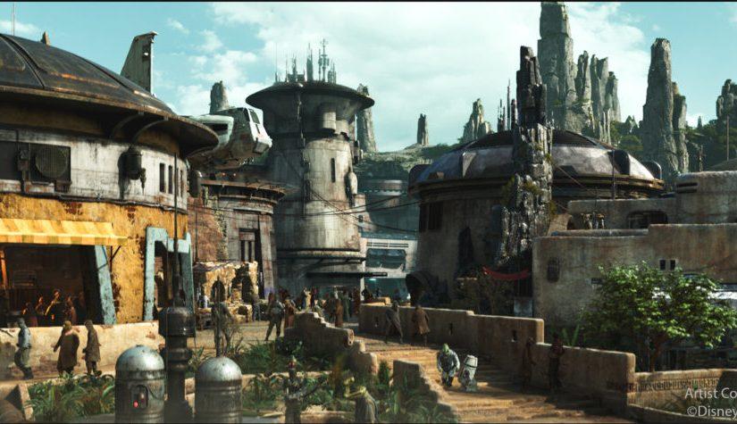 ¿Quién construye la tierra de Star Wars?Ella!
