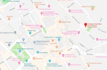 san blas 1 mapa