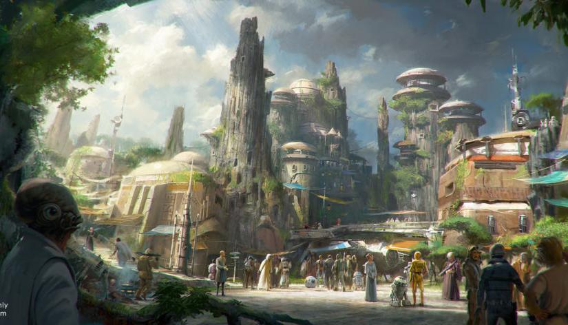 Disney | Primera fase de Star Wars: Galaxy's Edge ya tienefecha