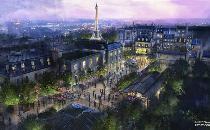La nuevo de Epcot: Ratatouille, China y Mary Poppins