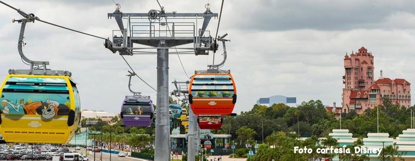 Skyliner conectará 4 hoteles con 2 parques Disney,  aquí te digocuales